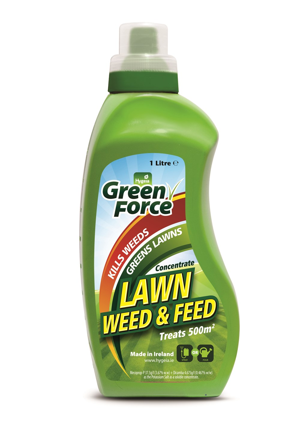 Hygeia Lawn Weed Amp Feed Concentrate 1 Litre Lawn Feed